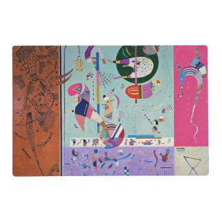 Kandinsky - Various Parts Laminated Placemat