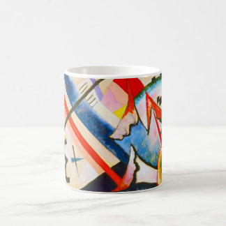Kandinsky White Cross Mug