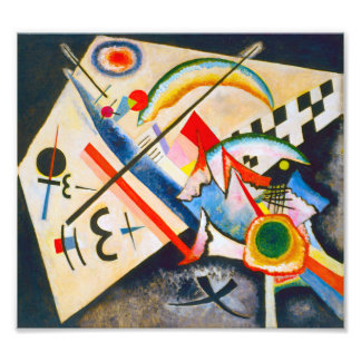 Kandinsky White Cross Photographic Print