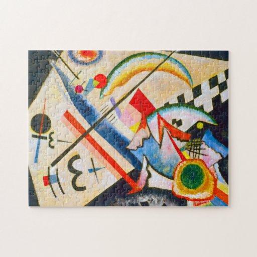 Kandinsky White Cross Puzzle