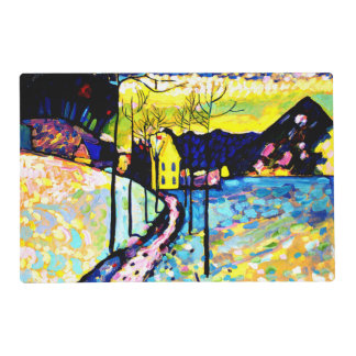 Kandinsky - Winter Landscape Laminated Place Mat