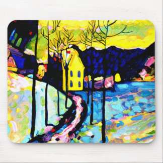 Kandinsky - Winter Landscape Mouse Pad
