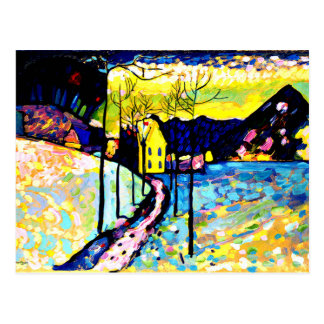 Kandinsky - Winter Landscape Postcard