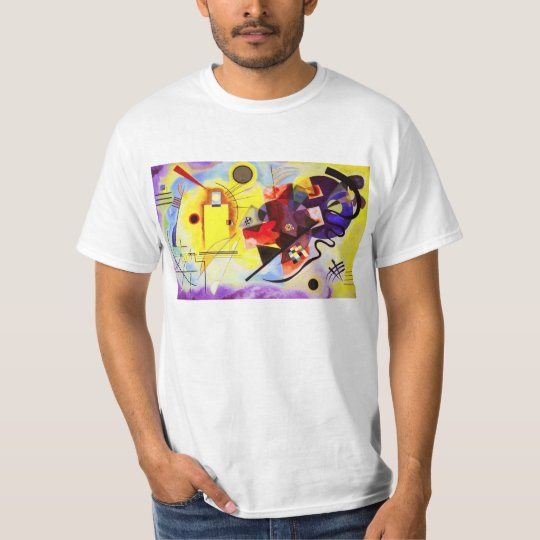 Kandinsky Yellow Red Blue T-Shirt
