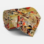 Kandinsky's Abstract Composition Tie