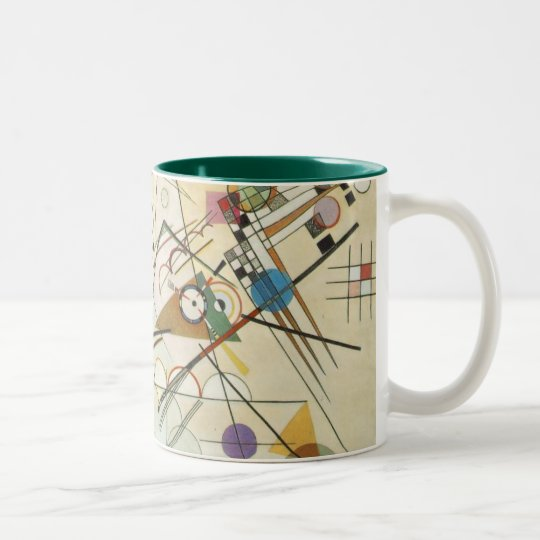 Kandiskyy Two-Tone Coffee Mug