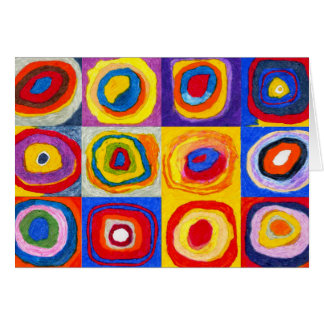 Kandisnky Circles Note Card