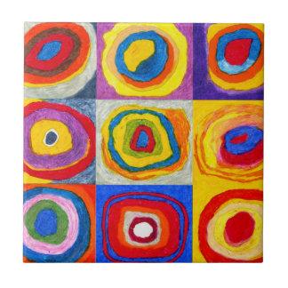 Kandisnky Circles Tile