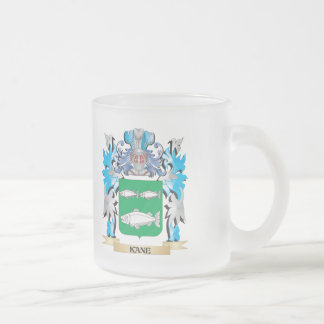 Kane Coat of Arms - Family Crest Frosted Glass Mug