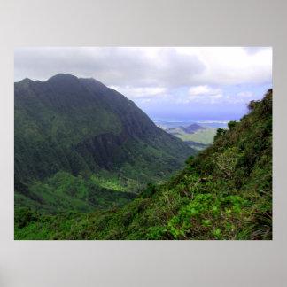 Kaneohe, O'ahu, Hawai'i Poster