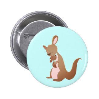 Kanga Love 6 Cm Round Badge