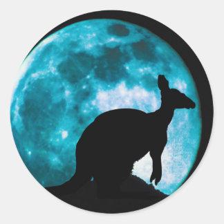 Kangamoon Classic Round Sticker