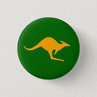 Kangaroo 3 Cm Round Badge