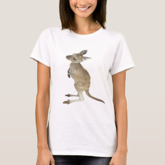 Kangaroo and Animal Peace Sign T-Shirt