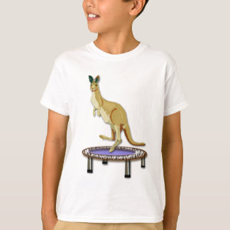 Kangaroo and Trampoline T-Shirt