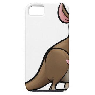 Kangaroo Animals Cartoon Character iPhone 5 Case