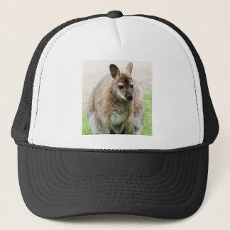 Kangaroo Art Trucker Hat