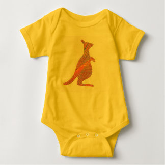 Kangaroo Baby Infant Bodysuit Great Shower Gift!