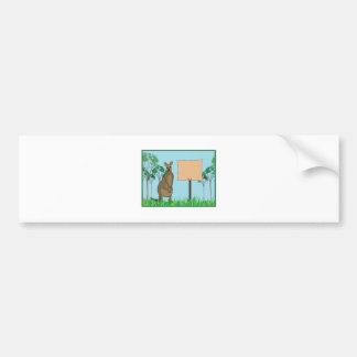 Kangaroo Base Bumper Sticker