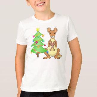 Kangaroo Christmas T-Shirt