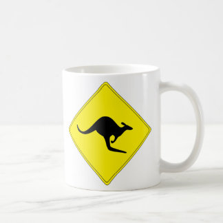 Kangaroo Crossing Mug - Customize