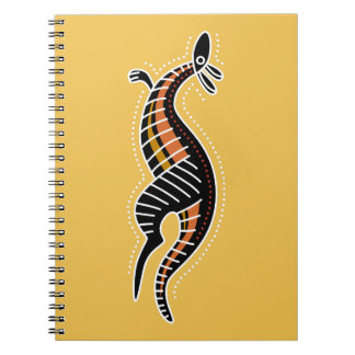 Kangaroo Dotted Design Notebook