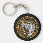 Kangaroo Dreamtime Key Ring
