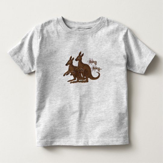 Kangaroo Family Baby in Pouch Field Trip T-Shirts
