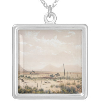 Kangaroo Hunt Silver Plated Necklace