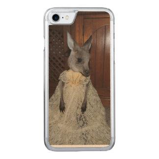 Kangaroo Joey Carved iPhone 7 Case