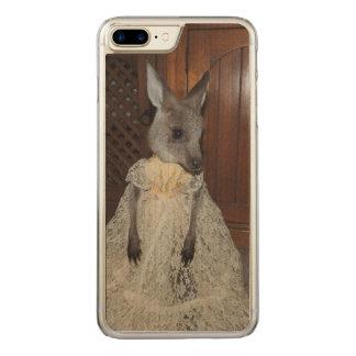 Kangaroo Joey Carved iPhone 7 Plus Case