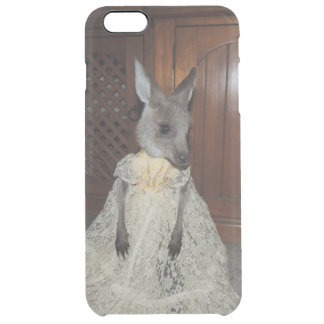 Kangaroo Joey Clear iPhone 6 Plus Case