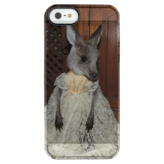 Kangaroo Joey Clear iPhone SE/5/5s Case
