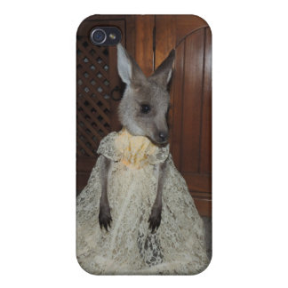 Kangaroo Joey iPhone 4/4S Covers