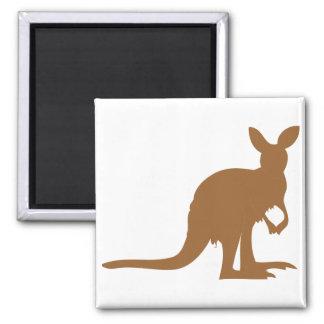 Kangaroo Kangaroos Australia Marsupial Art Animal Magnet