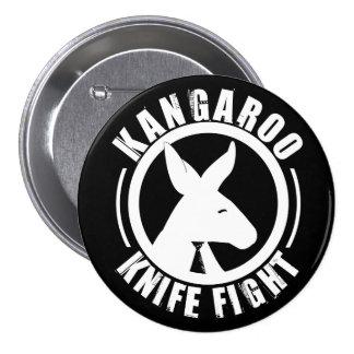Kangaroo Knife Fight - Logo Button
