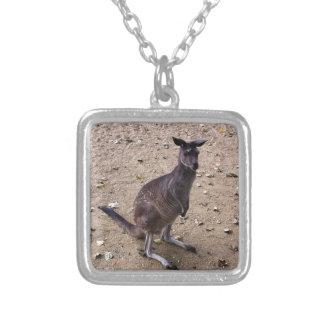 Kangaroo Looking at the Camera Custom Jewelry
