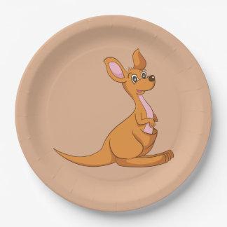Kangaroo Paper Plates