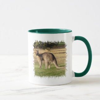 Kangaroo Picture Coffee Mug