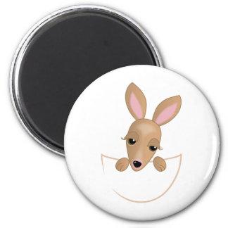 Kangaroo Pouch Magnet