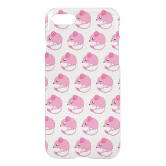 Kangaroo Rat Case- Clear/Pink iPhone 7 Case