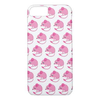 Kangaroo Rat Case- White/Pink iPhone 7 Case