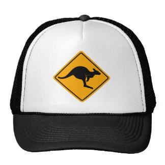 Kangaroo Road Sign Cap
