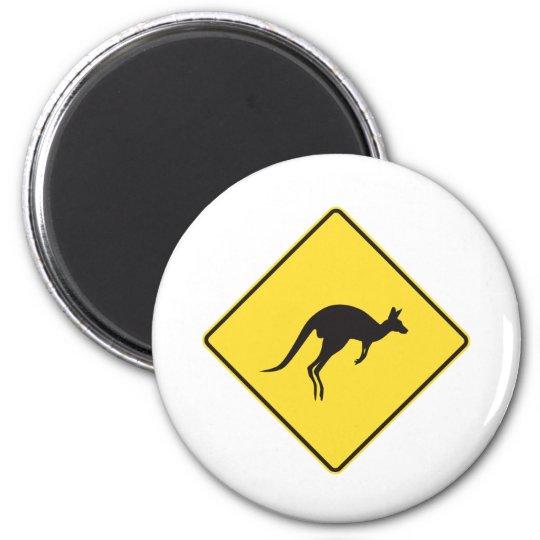 kangaroo sign.ai magnet