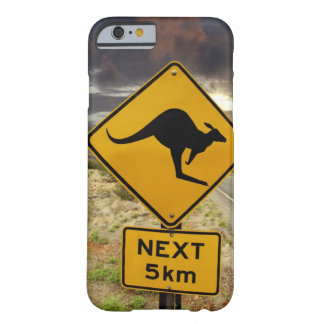 Kangaroo sign, Australia Barely There iPhone 6 Case