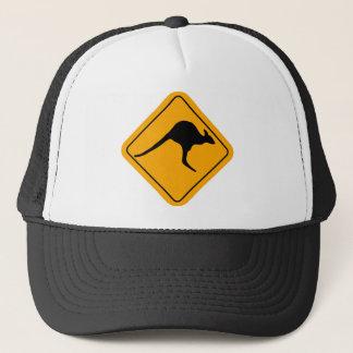 Kangaroo Sign Trucker Hat