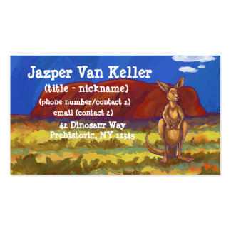 Kangaroo Stationery Pack Of Standard Business Cards