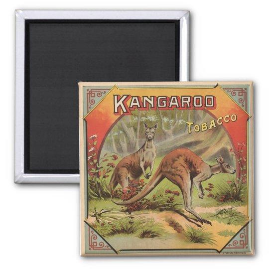 Kangaroo Tobacco 1900 Magnet