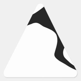 Kangaroo Triangle Sticker