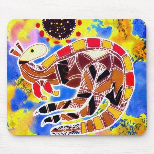 Kangaroo Turn Mouse Pad